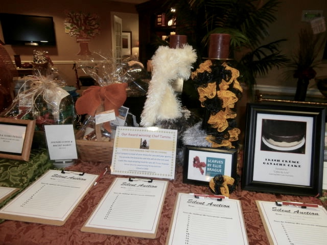 casino party Silent auction